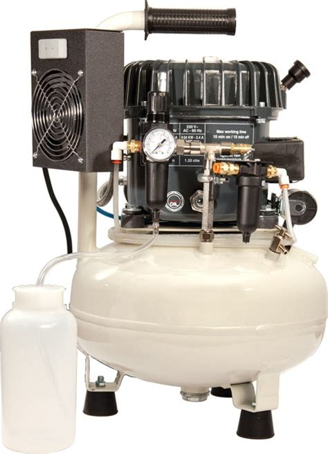 grs sil air silent air compressor with hook up kit 004678 2 195 00 lacy west supplies