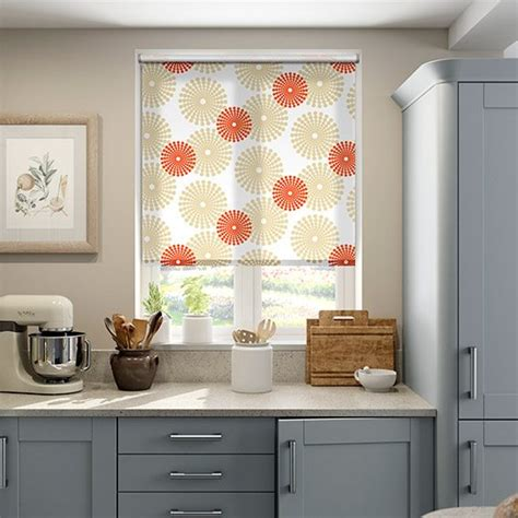 kitchen blinds ideas uk retro kitchen roller blinds blinds 2go
