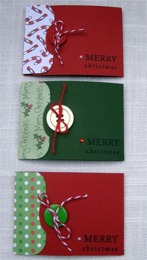Gift Card Holders Christmas - christmas gift card holder ideas