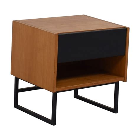 crate and barrel side table 70 crate barrel crate barrel single drawer side