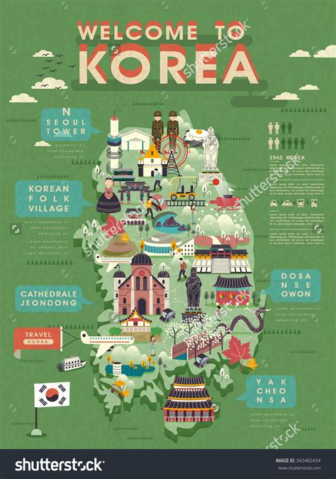 seoul map tourist attractions lovely south korea travel map with abundant attractions