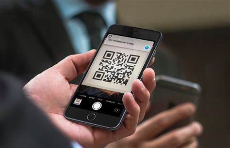 how to scan qr codes with iphone running ios 12