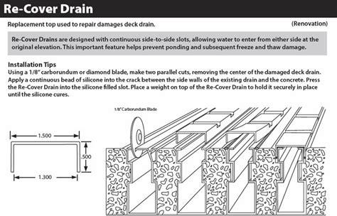 stegmeier  cover drain pool patio drain top repair