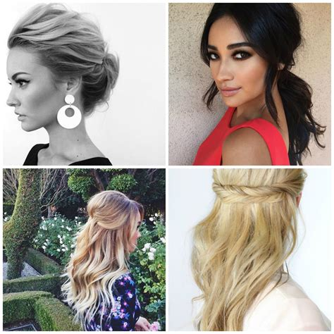 no fuss wedding day hairstyles 4 no fuss hairstyles to wear to a wedding the beauty vanity