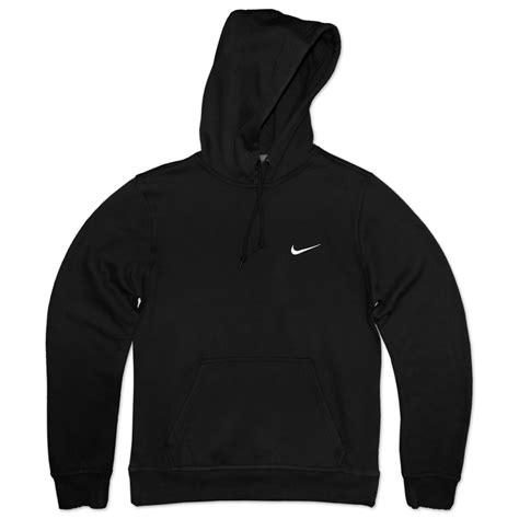 Nike Hoddie Text Black nike swoosh hoodie fleece sweater sweatshirt jumper autumn sweater grey l ebay