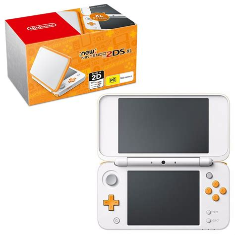 Nintendo New 2ds Xl Console nintendo new 2ds xl console orange geeky homewares