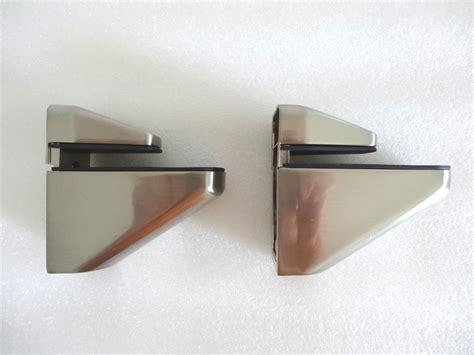 pair of big metal adjustable shelf holder bracket for
