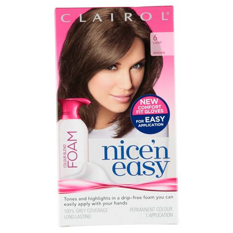foam hair color clairol n easy womens colour blend foam permanent