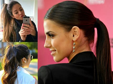 Easy Ponytail Hairstyles by Perfectly Easy Ponytail Hairstyles Hairdrome