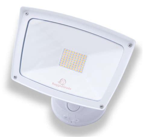 white led flood lights 40 led motion sensor flood light 4 800 lumens led