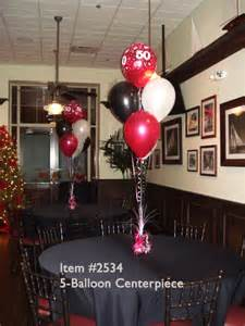 Table Decorations For Male Birthday Balloon Centerpieces 2534 5 Piece Latex Balloon
