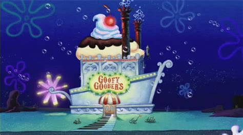 love boat ice cream history goofy goober s ice cream party boat spongebobtv wiki