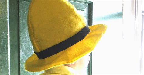 yellow hat pattern raising creative hearts man in the yellow hat costume