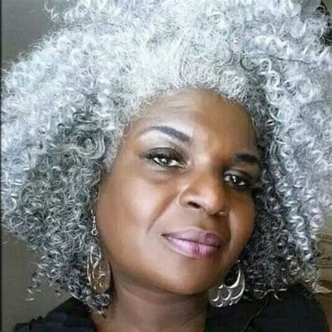 coloring natural grey african american hair beautiful black woman with gray hair essence com
