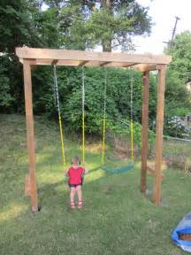 Swing Pergola Plans by Pergola Swing Set Plans Furnitureplans