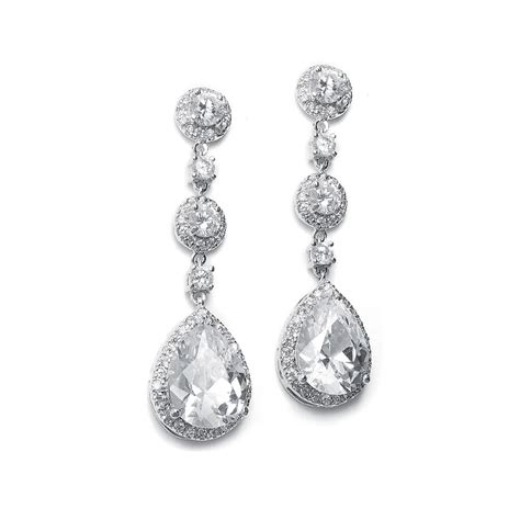 braut ohrringe tropfen wedding jewelry earrings for brides wardrobelooks