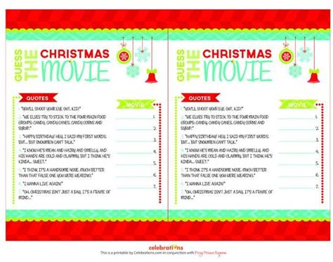 Christmas Film Quiz Answers | 25 best ideas about christmas trivia games on pinterest