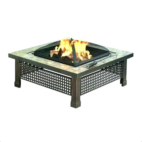 gas pit table lowes lowes outdoor gas fireplace table interior blue rhino