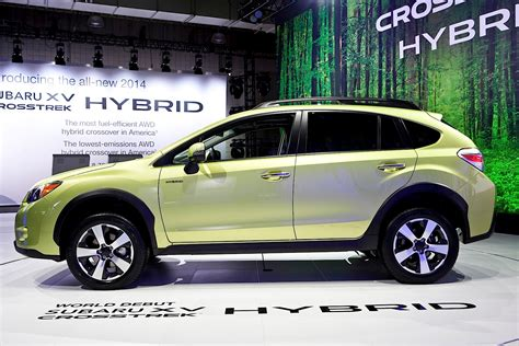 subaru hybrid subaru crosstrek hybrid is green in the big apple