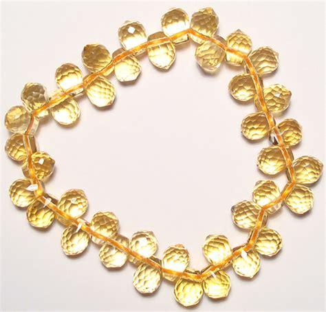 citrine bead bracelet citrine bracelet