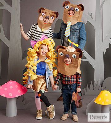 Goldilocks And The Three Bears Clever Book storybook character costumes costumes