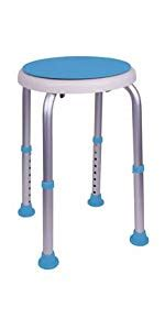 Carex Ez Swivel Stool by Carex Universal Bath Seat With Support For Up