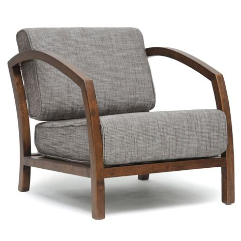 Modern Accent Chair Baxton Studio Velda Brown Modern Accent Chair