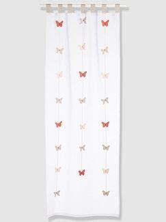 Rideau Fille Papillon by Rideau Papillons Fille Th 232 Me Envol 233 E Vertbaudet Enfant