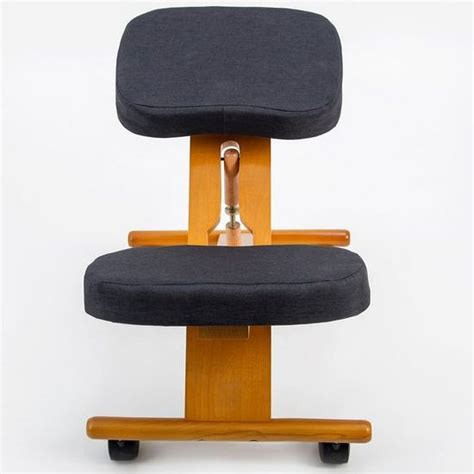 kneeling desk chair review wooden kneeling ergonomic office desk chair stool buy