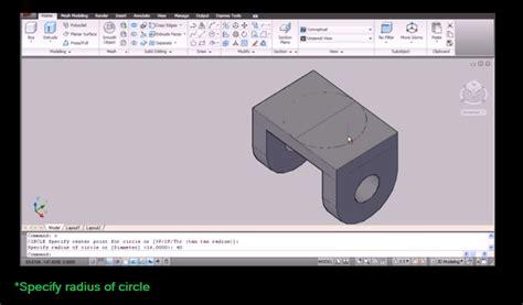 tutorial autocad 2d ke 3d mechanicalfil3 blogspot com autocad 3d modeling tutorial
