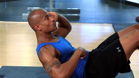 how to do a stomach crunch properly workout