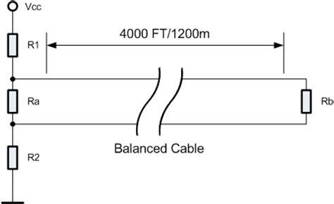 rs485 line termination resistor calculator alciro.org