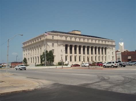 muskogee  muskogee county courthouse photo picture