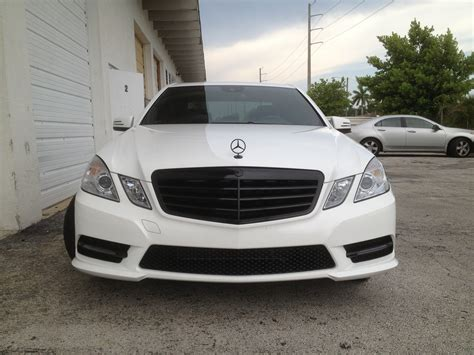 Mercedes Chrome by Intack Signs And Wraps 187 Mercedes E350 Chrome Delete
