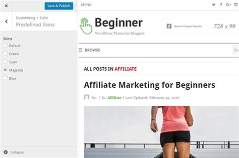 theme junkie affiliate beginner wordpress theme theme junkie