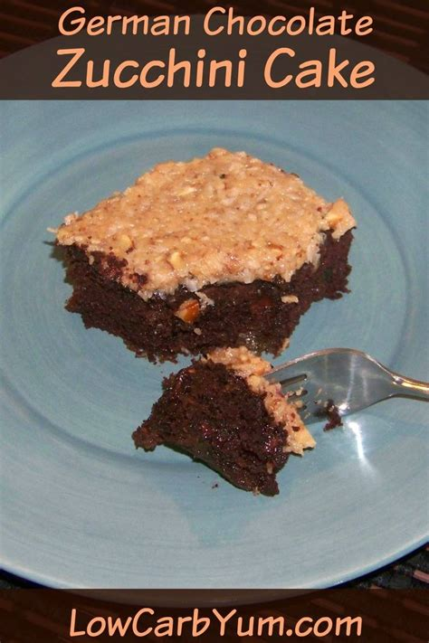 carbohydrates zucchini low carb german chocolate zucchini cake cover low carb yum