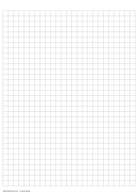 How To Make Grid Paper - printable graph grid paper pdf templates inspiration hut