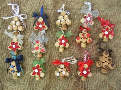 manualidades navidad original con adornos de corcho