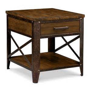 shortline end table value city furniture