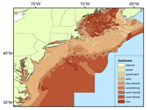 Us Continental Shelf by Ecology Of The Northeast U S Continental Shelf Physical