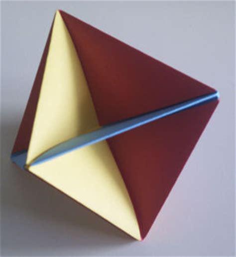 Modular Origami Octahedron - easy modular origami octahedron do it yourself