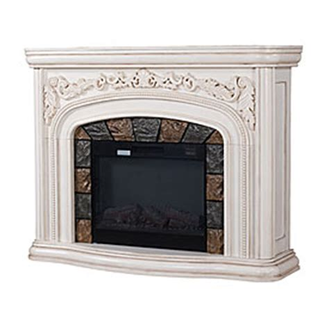 Big Lots White Fireplace by View 62 Quot Grand White Electric Fireplace Deals At Big Lots