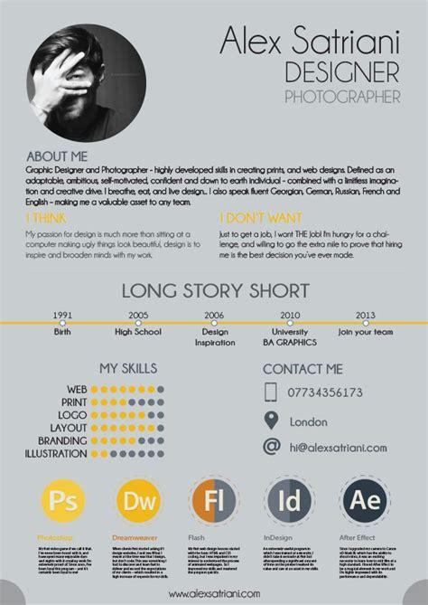 Bewerbung Grafik Design Alex Graphic Design Cv On Behance Graphic Design