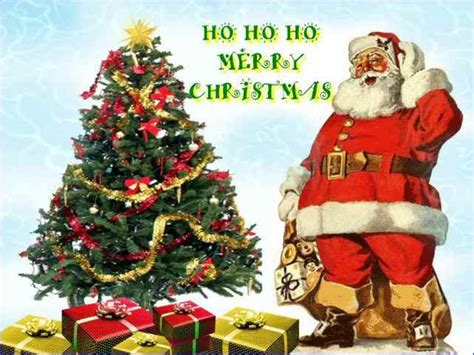 santa claus merry christmas image