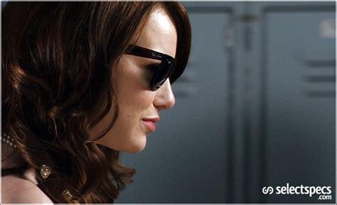 emma stone glasses celebrity sunglasses emma stone wears wayfarers in easy