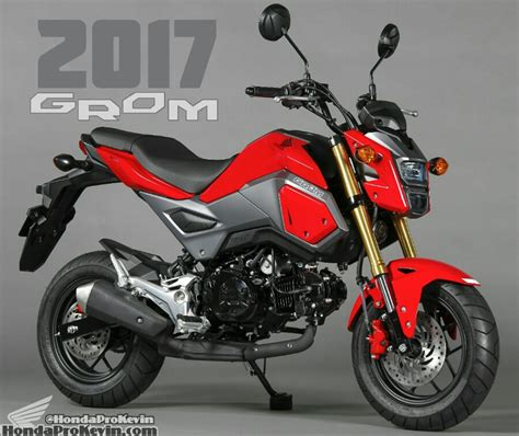 2017 Honda Grom 125 Pictures   Motorcycle News / Updates