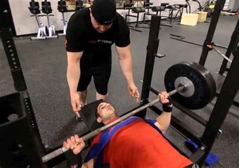 bench press program 3 to a bench press