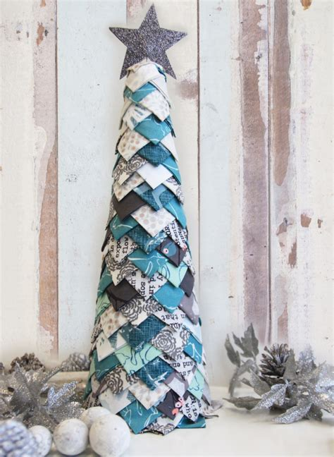 fabric christmas tree fun no sew tutorial art gallery