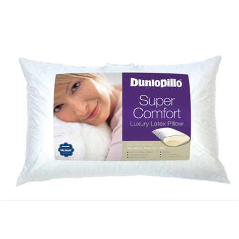 dunlopillo comfort pillow dunlopillo comfort pillow leekes