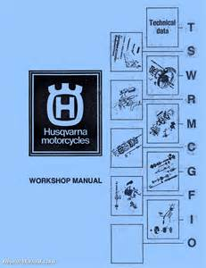 360 Owners Manual Husqvarna Cr Wr Rt Motorcycle Manual 125 175 250 360 390